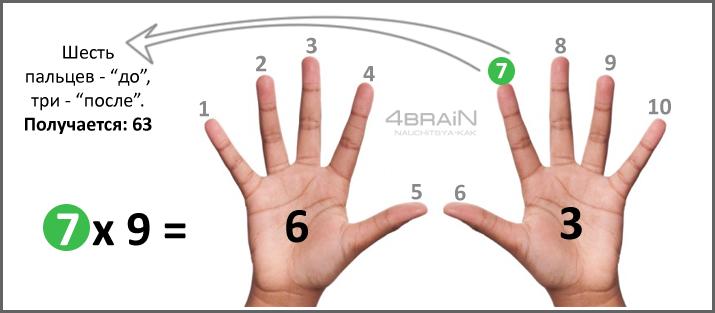 Таблица умножения5
